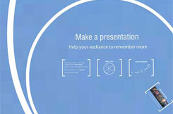 Better Presentation software choice to help your audiance to remember more.