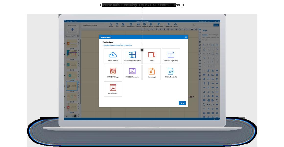 HTML5 Presentation Software | Video Presentation Maker and