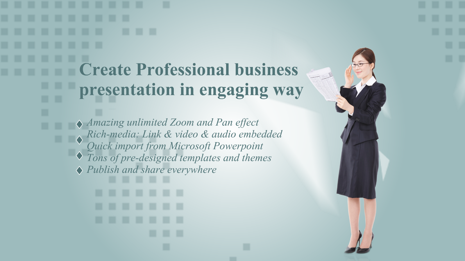 how to create a presentation slide