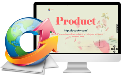Online slideshow presentation maker