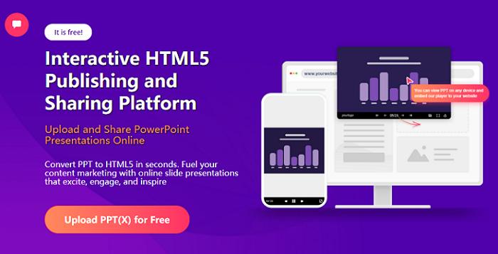Top 10 Websites to Make Interactive Online Presentations - SlideHTML5